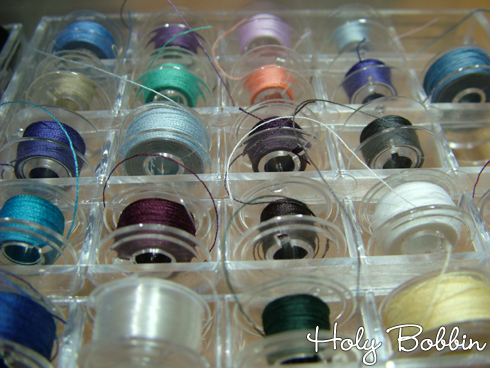 Bobbins In Box