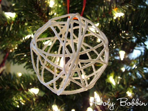 Finished String Ornament